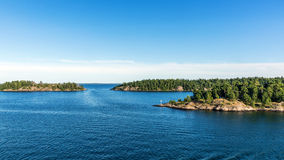 Paesaggio vicino a Nynashamn Fotografia Stock Libera da Diritti