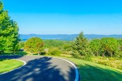Paesaggio vicino penisola a nuova Richmond, Gaspe fotografia stock libera da diritti