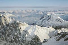 Paesaggio vicino a Zugspitze bavaria germany immagini stock