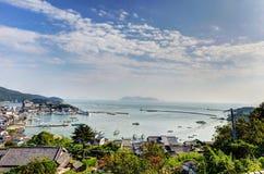 Paesaggio visibile dal tempio di Ioji Fotografie Stock