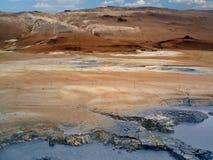 Paesaggio vulcanico Fotografie Stock
