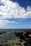 Paesaggio vulcanico all'Hawai fotografia stock