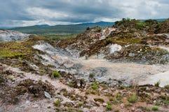 Paesaggio vulcanico kenya Immagini Stock