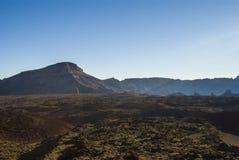 Paesaggio vulcanico (3000 metri sopra il livello del mare) Fotografia Stock Libera da Diritti