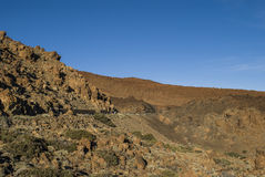 Paesaggio vulcanico (3000 metri sopra il livello del mare) Fotografia Stock