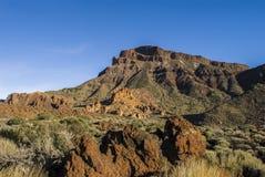 Paesaggio vulcanico (3000 metri sopra il livello del mare) Immagine Stock