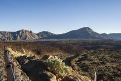 Paesaggio vulcanico (3000 metri sopra il livello del mare) Immagini Stock Libere da Diritti