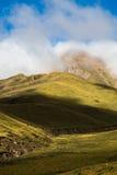 Paesaggio in Xinjiang, Cina della montagna di Tianshan Fotografia Stock