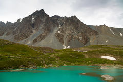 Paesaggio in Xinjiang, Cina della montagna di Tianshan Immagine Stock Libera da Diritti
