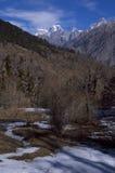 Paesaggio-Xxii del passaggio di Kuari di inverno Fotografie Stock Libere da Diritti