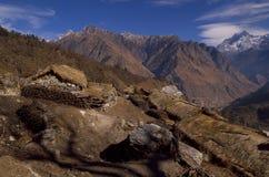 Paesaggio-Xxiii del passaggio di Kuari di inverno Fotografia Stock Libera da Diritti