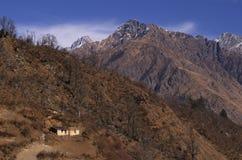 Paesaggio-Xxiv del passaggio di Kuari di inverno Fotografia Stock Libera da Diritti