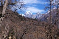 Paesaggio-XXVII del passaggio di Kuari di inverno Fotografia Stock Libera da Diritti