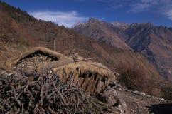 Paesaggio-XXVIII del passaggio di Kuari di inverno Fotografie Stock