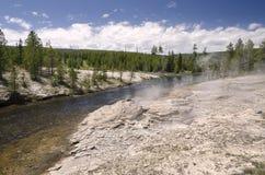 Paesaggio in Yellowstone Fotografia Stock Libera da Diritti