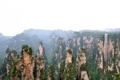 Paesaggio a Zhangjiajie della Cina Fotografie Stock