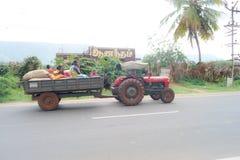 Paesani di Tamilnadu Fotografie Stock