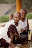 Paesani in Kampuchea Fotografia Stock