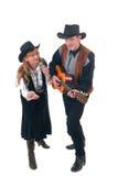 Paese & cantanti occidentali Immagini Stock