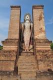 Paese anziano della città di rovina di Sukhothai Immagini Stock