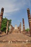 Paese anziano della città di rovina di Sukhothai Immagine Stock