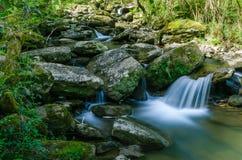 Paese Basco delle cascate Immagine Stock