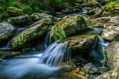 Paese Basco delle cascate Immagine Stock Libera da Diritti