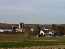 Paese dei Amish Fotografia Stock Libera da Diritti