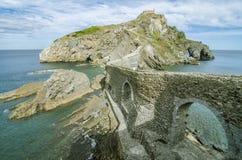 Paese del basco dell'isola Immagine Stock Libera da Diritti