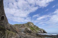 Paese del basco dell'isola Fotografie Stock Libere da Diritti