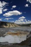 Paese del geyser fotografie stock libere da diritti