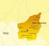 Paese del San Marino Fotografia Stock
