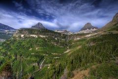 Paese dell'alta montagna Fotografia Stock Libera da Diritti