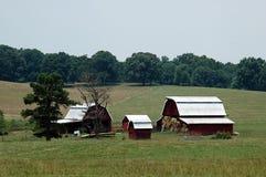 Paese dell'azienda agricola Immagini Stock Libere da Diritti