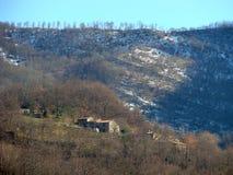 Paese della Toscana Fotografia Stock
