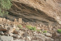 Paese di Dogon - Mali Fotografia Stock Libera da Diritti