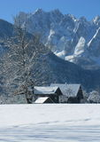 Paese di inverno Immagini Stock