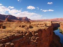 Paese di marmo del canyon immagine stock libera da diritti