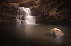 Paese Galles della cascata Immagine Stock