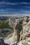 Paese magico della montagna Fotografia Stock