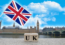 Paese Regno Unito Fotografia Stock Libera da Diritti