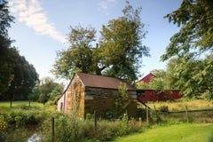 Paese rurale della Virginia di paesaggio fotografia stock