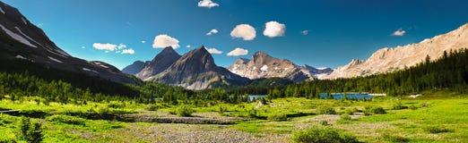 Paese scenico Alberta Canada di Kananaskis di Mountain View Fotografia Stock Libera da Diritti