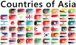 Paesi dell'Asia Fotografia Stock Libera da Diritti