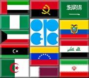 Paesi dell'OPEC Immagini Stock Libere da Diritti