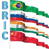 Paesi di BRIC Fotografia Stock