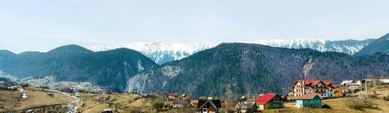 Paesino di montagna fotografia stock libera da diritti