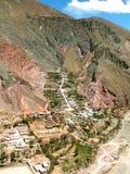 Paesino di montagna immagini stock libere da diritti