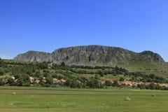 paesino di montagna Fotografia Stock