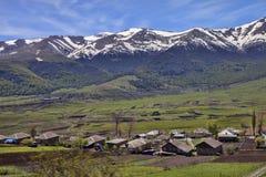 Paesino di montagna, Armenia Immagini Stock